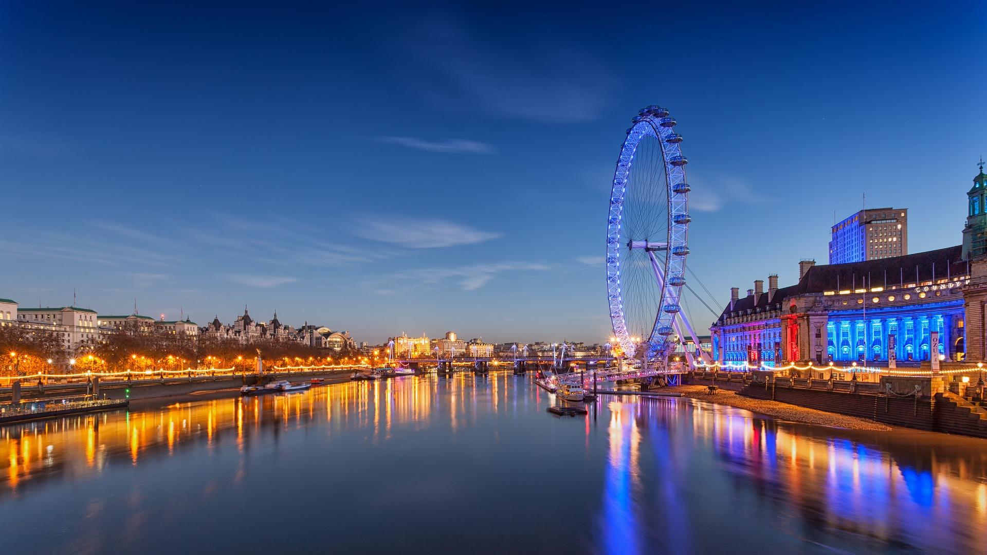 Ingiltere Şehirler - Londra london eye
